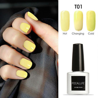 Temperature Color Changing Nail Polish Thermal Color Change UV Gel: Deals Blast