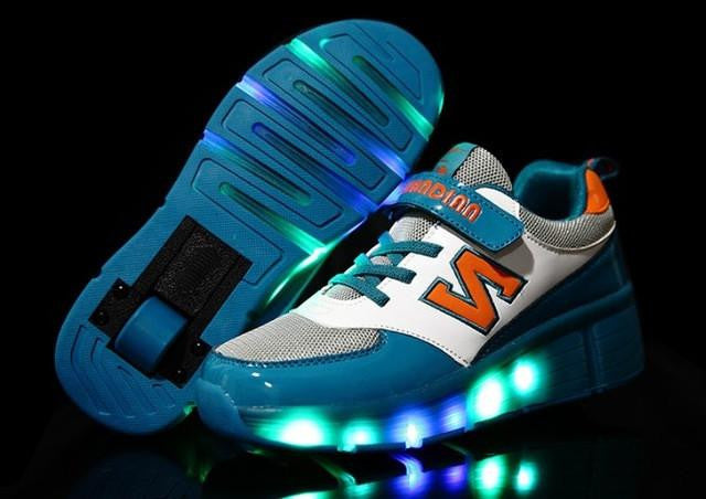 18 Kinds Children Shoes Boy & Girls Casual With LED Lamp Sneakers - Deals Blast
