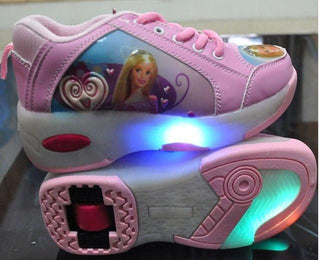 Children Shoes With LED Lamp Flashing Kids Sneakers For Girls & Boys - Deals Blast