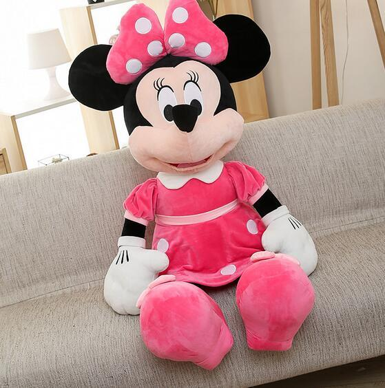 40cm Mickey Mouse and Minnie Mouse Plush Toys Kids Christmas Birthday gift: Deals Blast