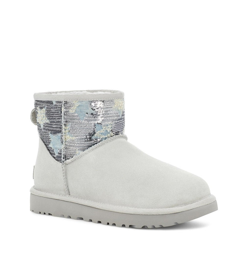 UGG - Classic Mini Sequin Star - Grey Violet - Envy - online clothing