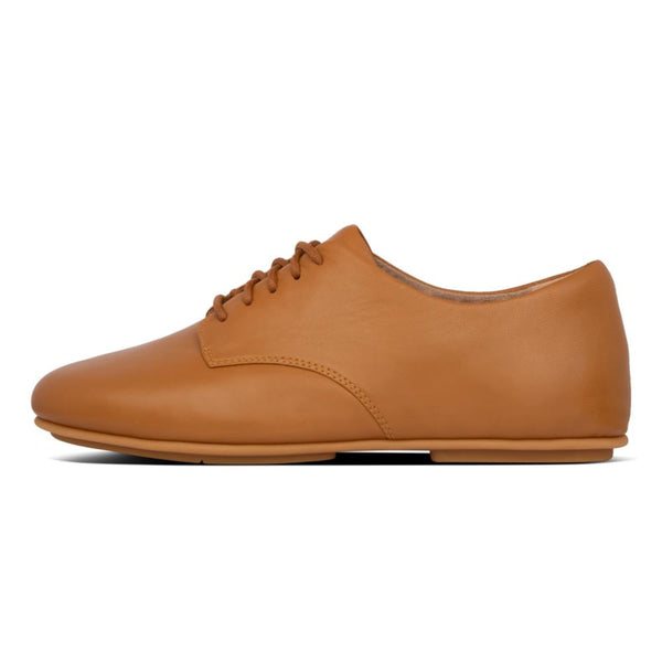Adeola Leather Lace-Up Light Tan - Envy