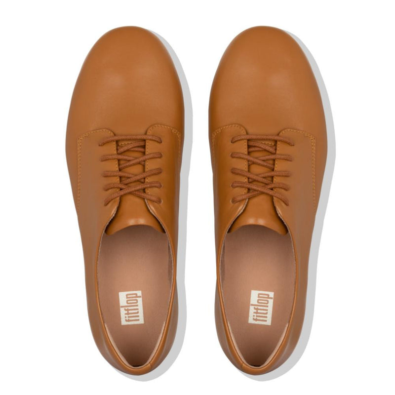Adeola Leather Lace-Up Light Tan - Envy - online clothing