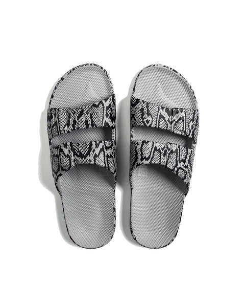 FREEDOM MOSES SLIDES - COBRA GREY - Envy