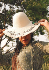 Maldives Please Sun Hat - Envy - online clothing