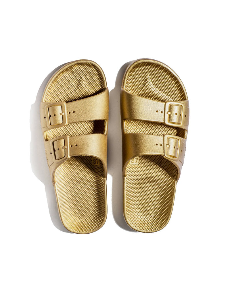 FREEDOM MOSES SLIDES - GOLDIE - Envy - online clothing