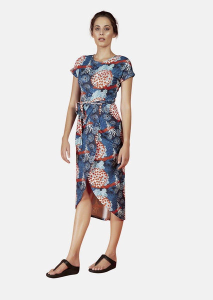 GRACE DRESS IN MERIHEINA PRINT - Envy