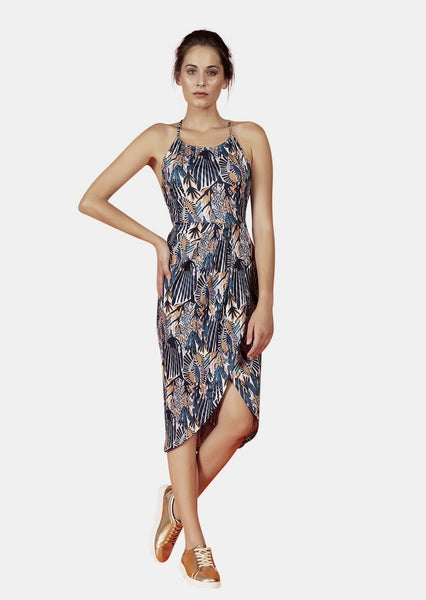 AVA DRESS IN DREAMS PRINT - Envy