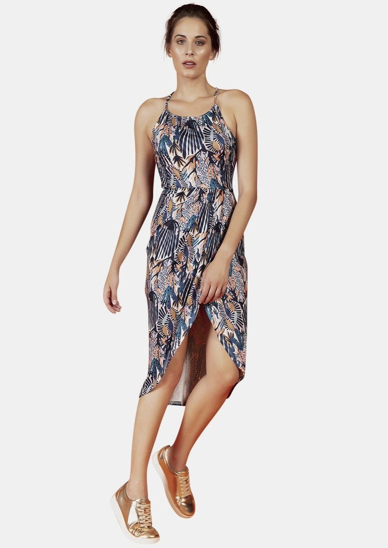 Ava Dress In Dreams Print - Envy - online clothing