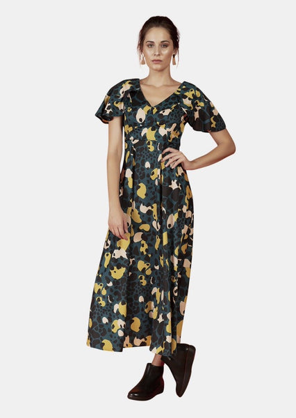 ARIA DRESS IN AMAZONIA PRINT - Envy