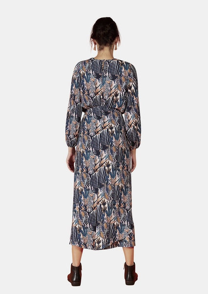 GAIA DRESS IN DREAMS PRINT - Envy
