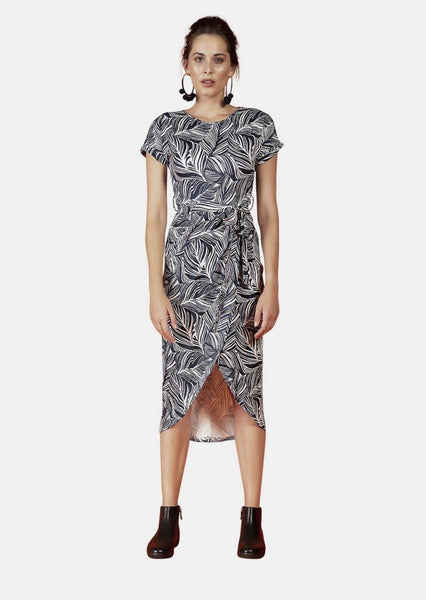 GRACE DRESS IN ORIENT PRINT - Envy