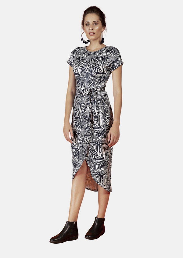 Grace Dress In Orient Print - Envy - online clothing