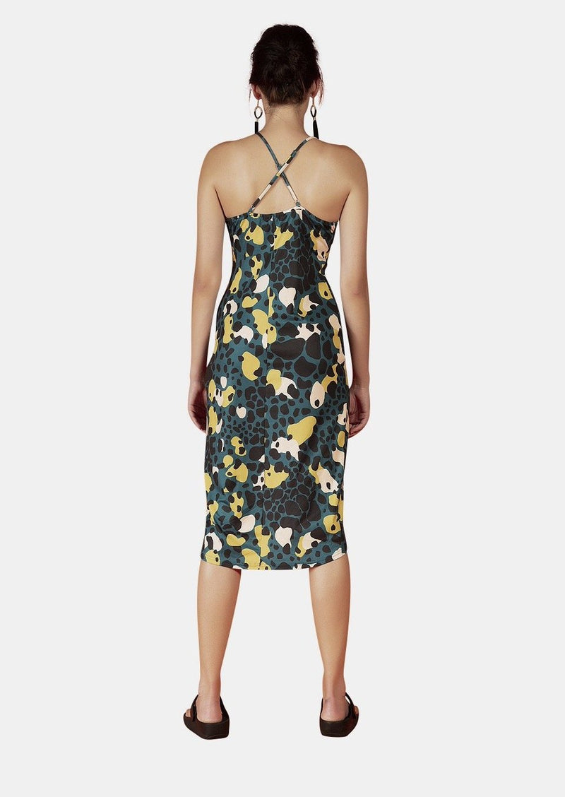 Ava Dress In Amazonia Print - Envy - online clothing