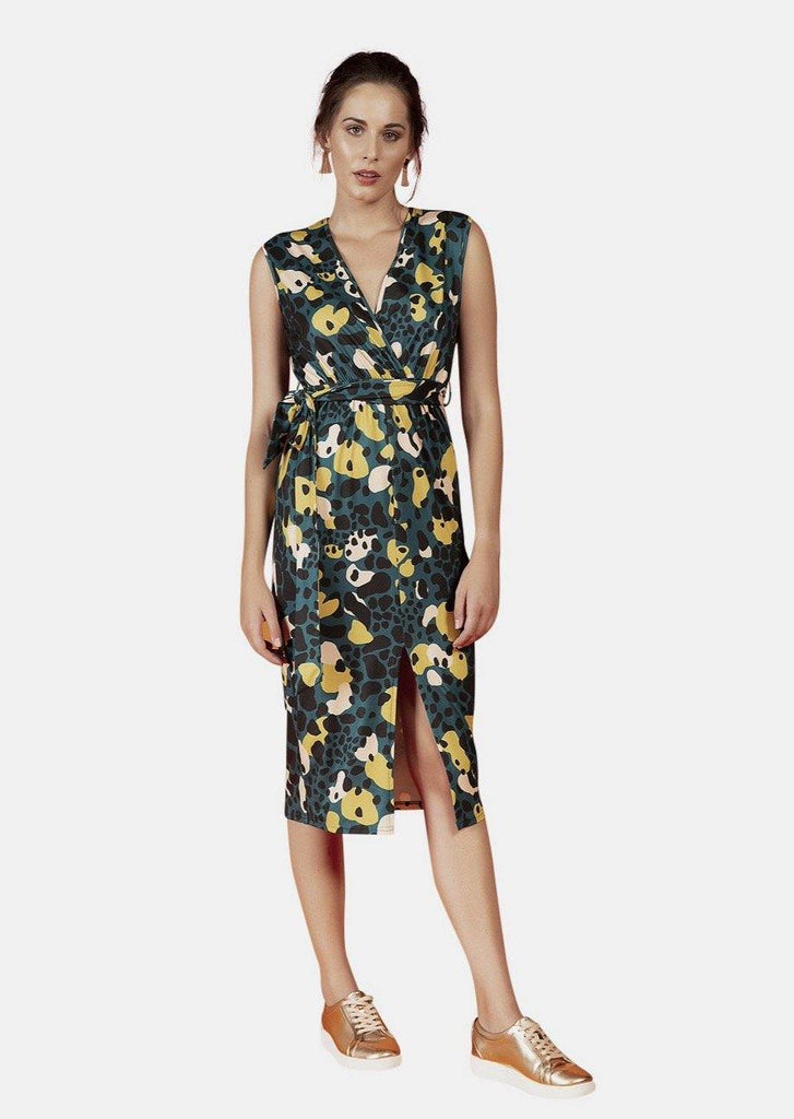 MAYA DRESS IN AMAZONIA PRINT - Envy