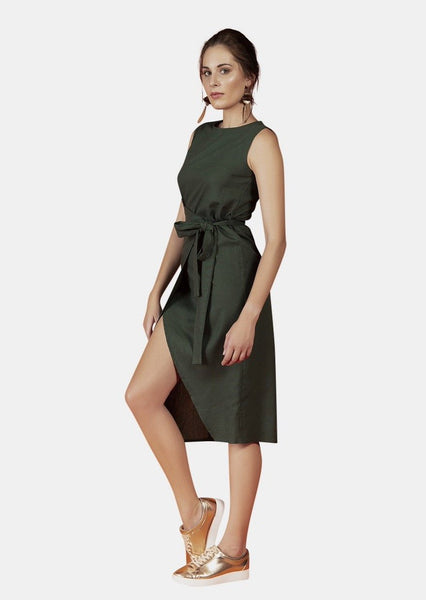 RILEY GREEN DRESS - Envy