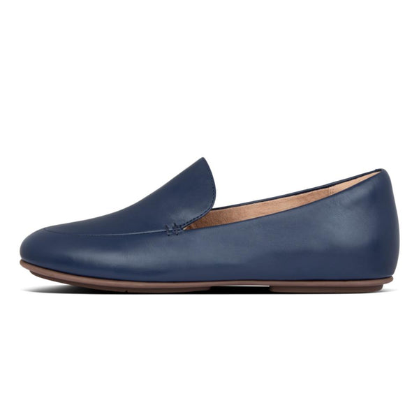 Lena Leather Loafer Navy - Envy