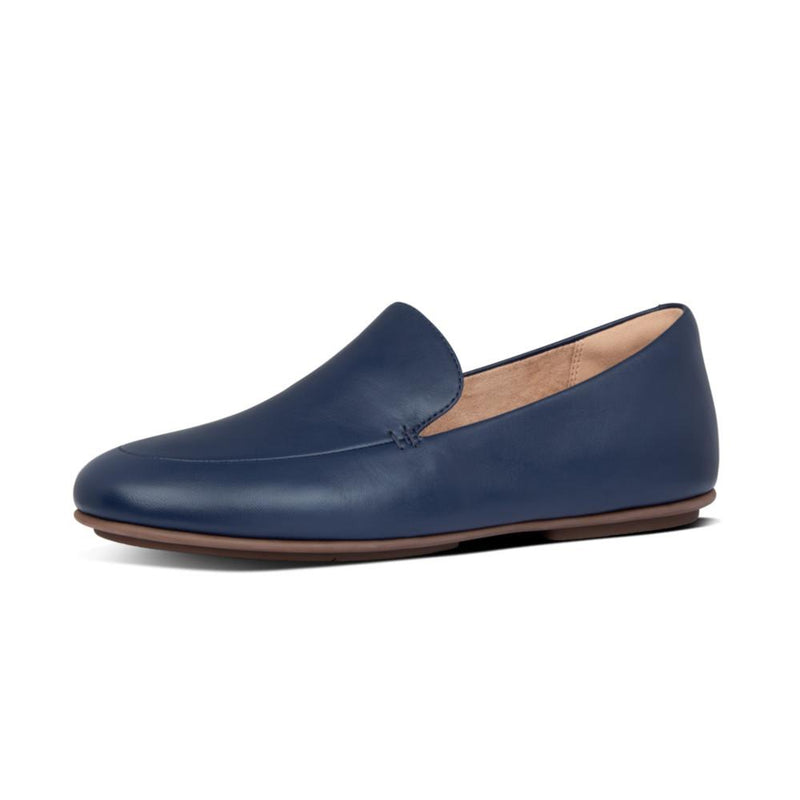 Lena Leather Loafer Navy - Envy - online clothing
