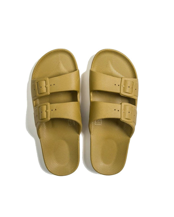 FREEDOM MOSES SLIDES - PISTACCIO - Envy - online clothing