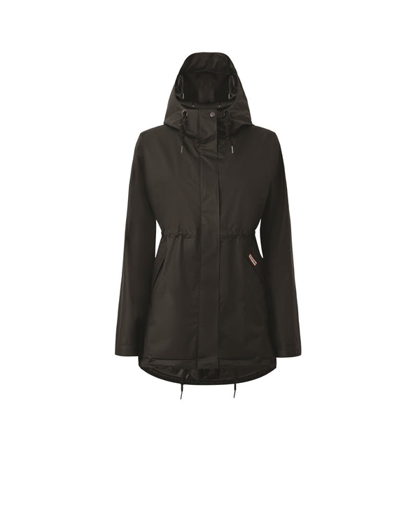 HUNTER - Womens Original Vinyl Smock - Black - Envy - online clothing