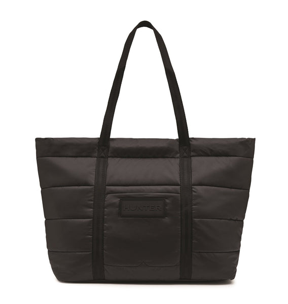 Original Hunter Puffer Tote - Black - Envy