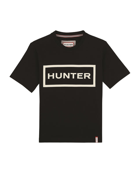 Hunter - Womens Original T-shirt - Black/Optic White - Envy