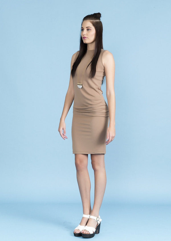 Side Rouched Dress - Envy online clothing store south africa