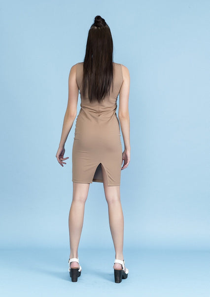 SIDE ROUCHED DRESS - Envy