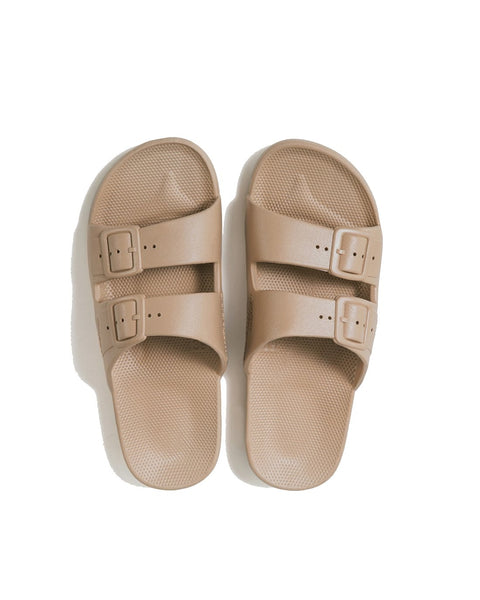 FREEDOM MOSES SLIDES - SANDS - Envy online clothing store south africa