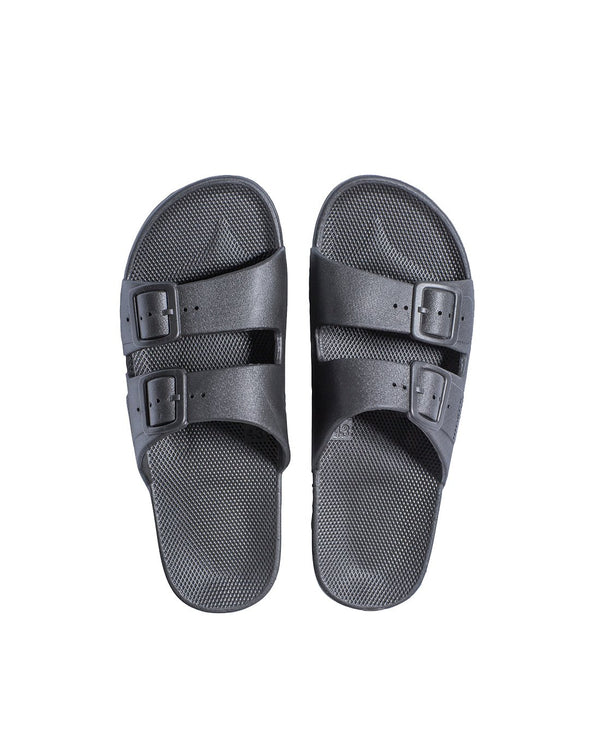 FREEDOM MOSES SLIDES - STORMY - Envy - online clothing