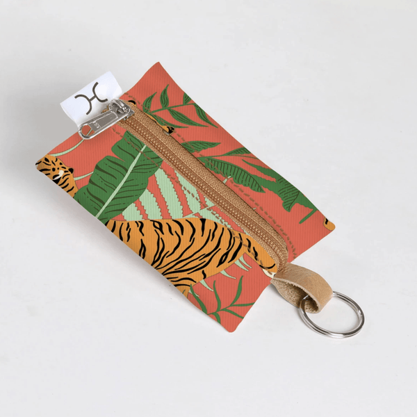 KEY RING LAMINATED FABRIC - Envy - online clothing