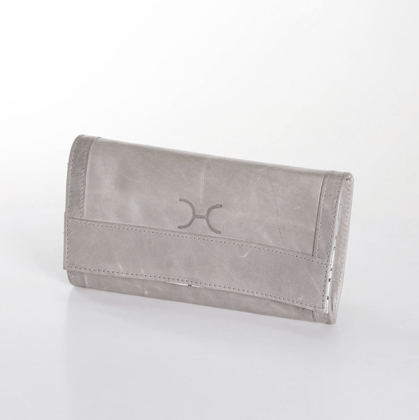 LEATHER TRAVEL WALLET - Envy - online clothing