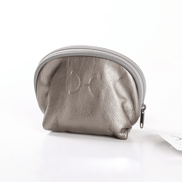 Make Up Bag  - Metallic Leather