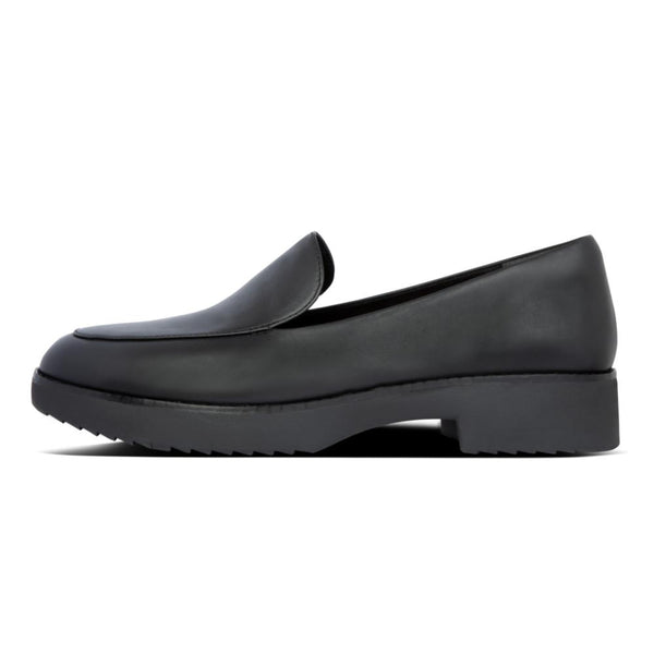 Talia Leather Loafers All Black - Envy - online clothing