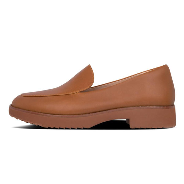 Talia Leather Loafers Light Tan - Envy