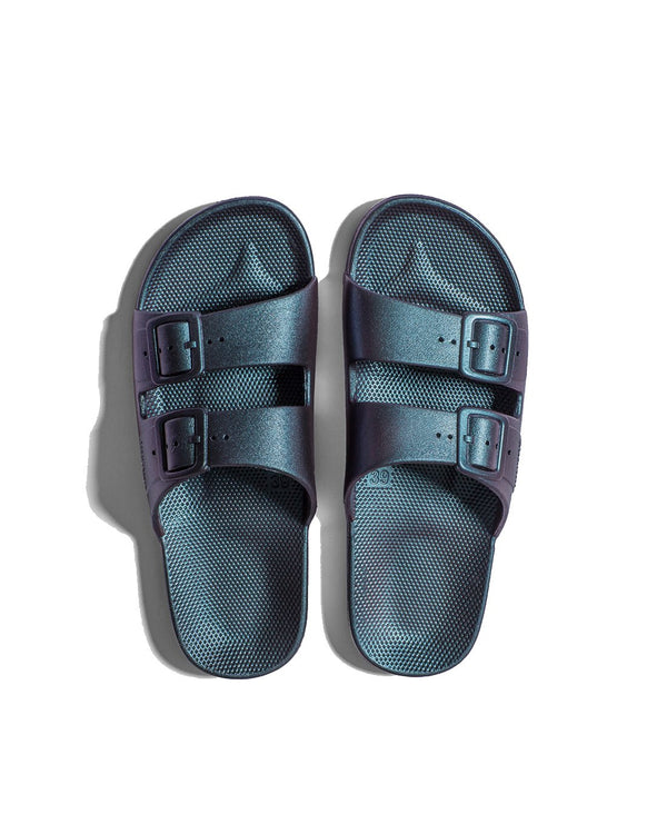 FREEDOM MOSES SLIDES - TWILIGHT - Envy - online clothing