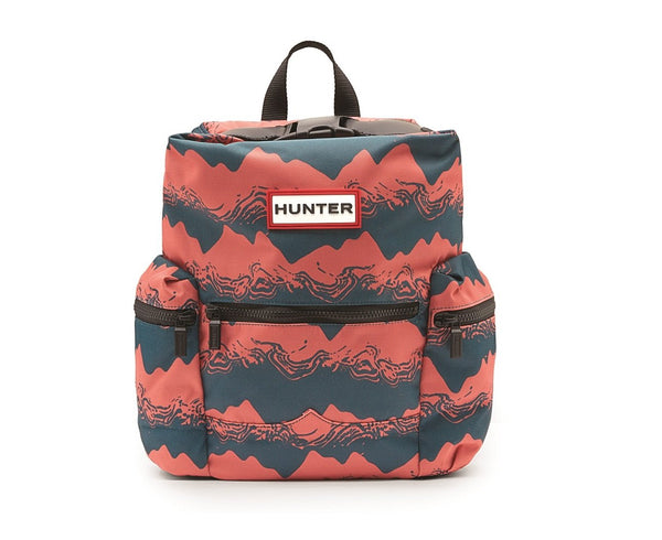 HUNTER - Org Mini Topclip Backpack Nylon - Storm Print - Envy