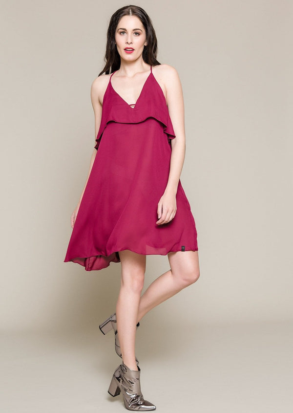 Sleeveless Chiffon Cocktail Dress - Envy online clothing store south africa