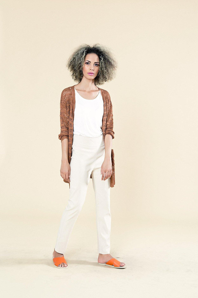LIGHT CROCHET CARDI WITH POCKETS - Envy online clothing store south africa