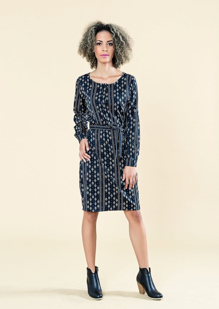 SHIRT DRESS WITH ROLL UP SLEEVES - Envy