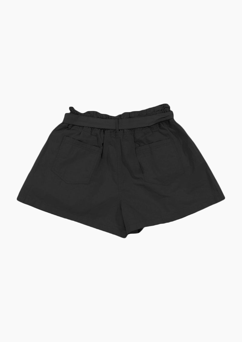 High Waisted Summer Shorts Black