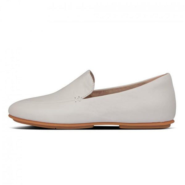 Lena Leather Loafer Stone - Envy