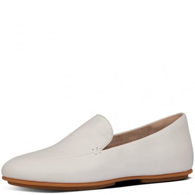 Lena Leather Loafer Stone - Envy online clothing store south africa