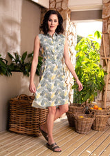CRAVE Gemma Dress in the Botanic print - Envy - online clothing