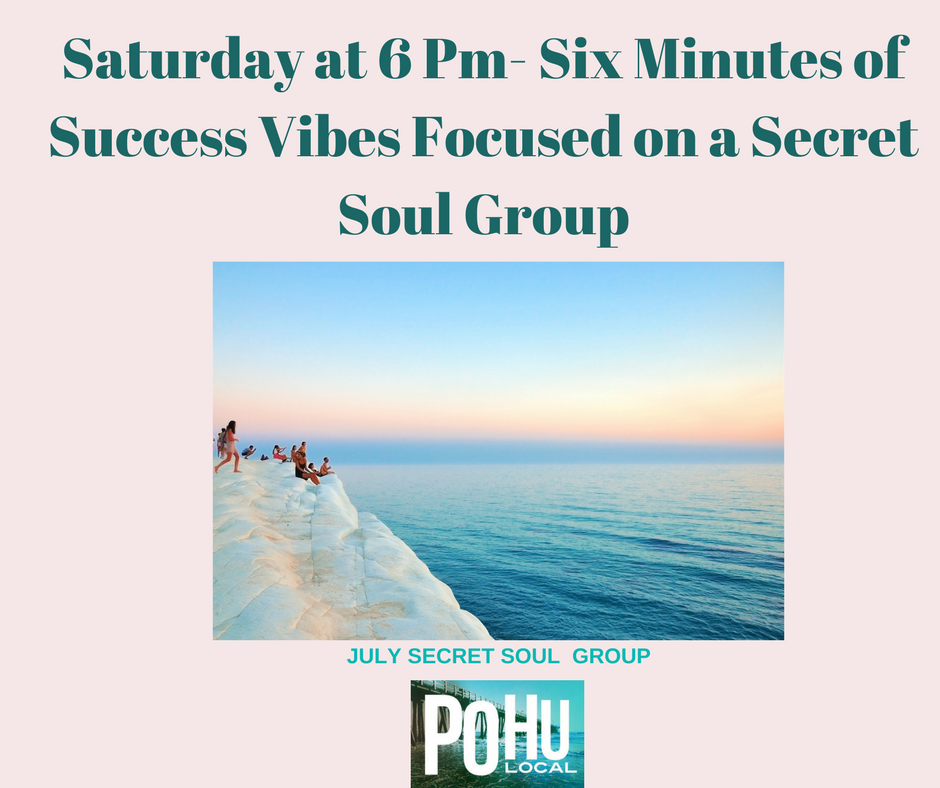 Saturday at 6 Pm- Six Minutes of Success Vibes Focused on a Secret Soul Group