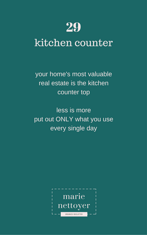 The Most Exspensive Real Estate in Your House--The Kitchen Counter!