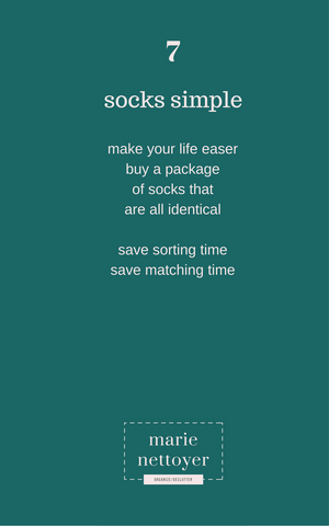what do you use single socks for?
