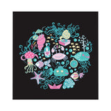 PoHuLocal-Under the Sea Microfiber Duvet Cover