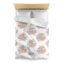 PoHuLocal-Lotus Meditation Microfiber Duvet Cover