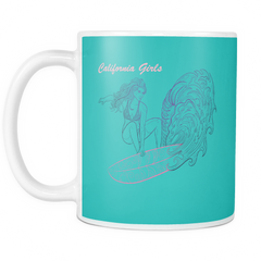 California Girls  Printed Ceramic Coffee Mug-PoHuLocal